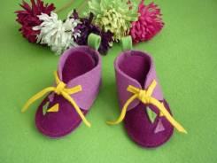 Пинетки-ботинки. 20, 21