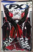 Набор наклеек FactoryEffex (крылья,маятник,вилка,обтекатели рад.) 16-02366 Crf450r (2013)
