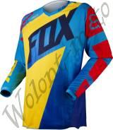 Мотоджерси детская Детская: S Желтый с синим Fox 180 Vandal Kids Jersey 11452-586-S