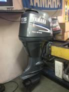 Yamaha. 115,00л.с., 4х тактный, бензин, нога X (635 мм), Год: 2005 год