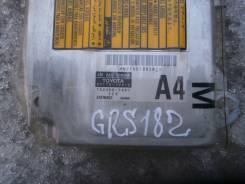 Блок управления airbag. Toyota Crown, GRS180, GRS181, UZS186, GRS182, UZS187, GRS183 Toyota Crown Majesta, GRS181, GRS182, GRS180, UZS186, GRS183, UZS...