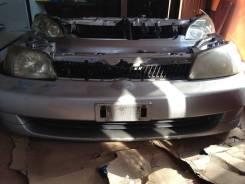 Радиатор охлаждения двигателя. Toyota Platz, SCP11 Двигатель 1SZFE