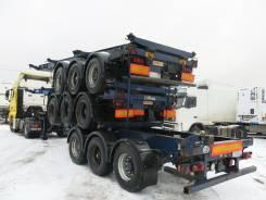Dennison. Полуприцеп контейнеровоз контейнер 20-30-40' 2002г., 35 000 кг.