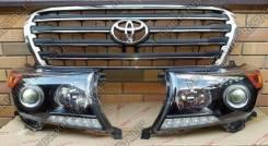 Решетка на фары. Toyota Land Cruiser. Под заказ