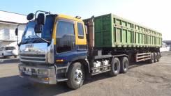 Isuzu Giga. Продам седельный тягач Isuzu GIGA 2000 г. в. задняя телега 4WD ОТС, 22 801 куб. см., 30 000 кг.