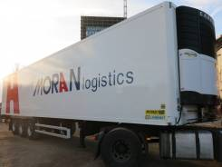 Vector. Полуприцеп рефрижератор Lamberet 2007г. Carrier 1800, 35 000 кг.
