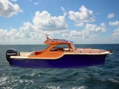Продается катер Ретро-600, новый. Год: 2013 год, длина 6,10м., двигатель подвесной, 115,00л.с., бензин
