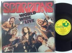 Скорпионз / Scorpions - World Wide Live - DE 2LP 1985 + постер