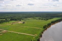 Участок на берегу реки. Цена 180 т. руб/Га. собственность, вода, от агентства недвижимости (посредник)