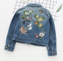 Куртки джинсовые. Рост: 86-98, 98-104, 104-110, 110-116, 116-122 см