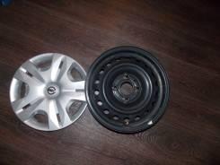 Nissan. 5.5x15, 4x114.30, ET40, ЦО 66,1мм.