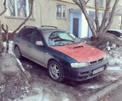Капот. Subaru