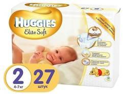 Huggies. 4-7 кг 27 шт