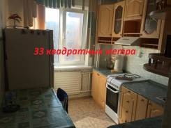 1-комнатная, улица Невельского 11. 64, 71 микрорайоны, агентство, 34 кв.м. Кухня