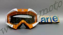 Маска кроссовая Белый с оранжевым Ariete RIDING CROWS BASIC 13950-OB15