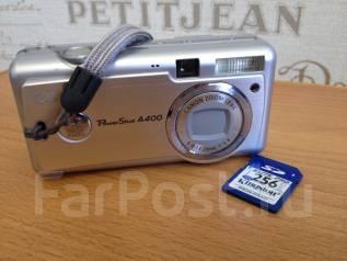 Canon PowerShot A400. Менее 4-х Мп, зум: 4х