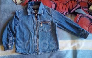 Рубашки джинсовые. Рост: 98-104, 104-110 см