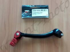 Лапка переключения передач Zeta Forged Shift Lever RMZ450 08- ZE90-4222 Черно красный