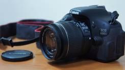 Canon EOS 600D Kit. 15 - 19.9 Мп, зум: 3х