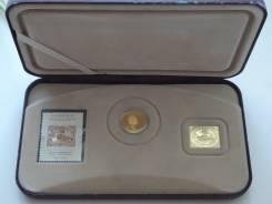 Канада юбилейный набор 2001 г. 150 лет марки с бобром.
