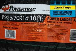 PowerTrac Power Lander A/T. Грязь AT, 2017 год, без износа, 4 шт