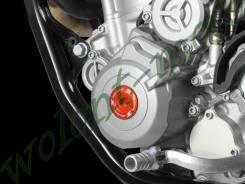 Крышка на двигатель ZETA Engine Plugs KTM ZE89-1617 Оранжевый