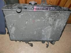 Радиатор охлаждения двигателя. Mitsubishi Delica