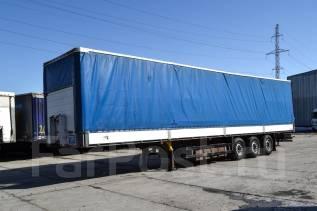 Schmitz. Шторно-бортовой полуприцеп 2008 г/в, 35 000 кг.