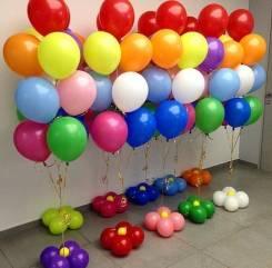 Оформление воздушными шарами.