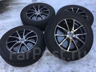 205/65R16 Bridgestone на новом литье A-Tech. (16506). 6.5x16 5x114.30 ET38