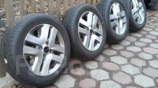 Продам комплект колёс Dunlop Enasave EC203. 5.5x15 4x100.00