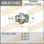 Гайка колеса MLS148 MASUMA 12x1.5 под ключ=21мм (3783)