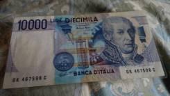 Банкнота Италия