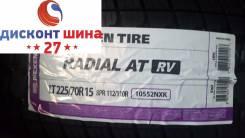Nexen Radial A/T RV. Летние, 2017 год, без износа, 4 шт