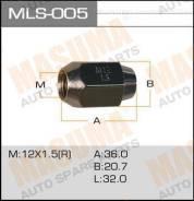 Гайка колеса MLS005 MASUMA 12x1.5 под ключ=21мм (3764)