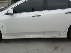 Порог пластиковый. Honda Accord, CP1, CP2, CU1, CU2, CW1, CW2 Двигатели: K24A, K24Z2, K24Z3, R20A, R20A3