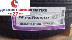 Nexen N'FERA SU1. Летние, 2017 год, без износа, 4 шт