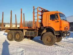 Камаз 43118 Сайгак. Камаз 43118 (6х6) сортиментовоз 2011г, 10 850 куб. см., 10 100 кг.