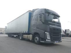 Volvo FH 13. Сцепка = тягач Volvo FН460 4x2, 2014+штора Kaessbohrer, 13 000 куб. см., 19 000 кг.