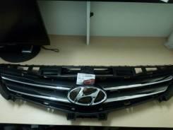 Решетка радиатора. Hyundai Solaris
