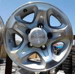 """Колпаки для литых дисков Toyota Land Cruiser 76 охотник. Диаметр 16"""""""", 1шт"""