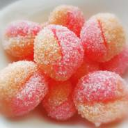 Сахарный скраб ручной работы «Ароматный персик» Отличный подарок!