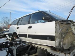 Стекло боковое. Toyota Sprinter Carib, AE95
