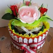 Продам тортик из конфет