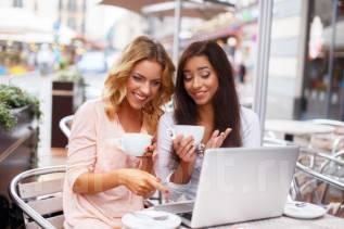 Работа девушкам 18+, женщинам в интернете!