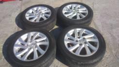 Комплект литых колес Mazda с летней резиной 205/55R-16. 6.5x16 5x114.30 ET52.5 ЦО 60,0мм.