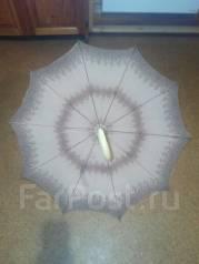 Зонт винтажный, женский. Германия, 50 гг., диаметр 90 см. Оригинал