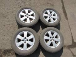Продам комплект литья с Ist 2003 с резиной 195/65/15. 5.5x15 4x100.00