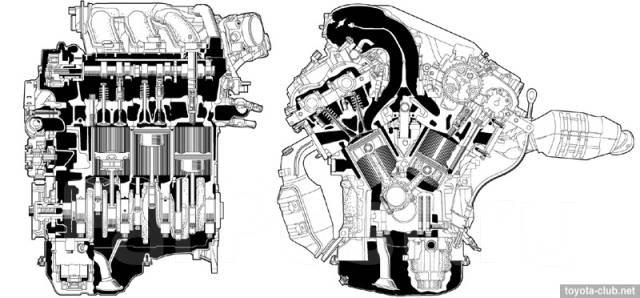 Двигатель в сборе. Lexus RX350 Двигатель 2GRFE
