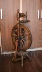 Старинная прялка с колесом. Самопрялка. Прошлый век! Торг! Обмен!. Оригинал